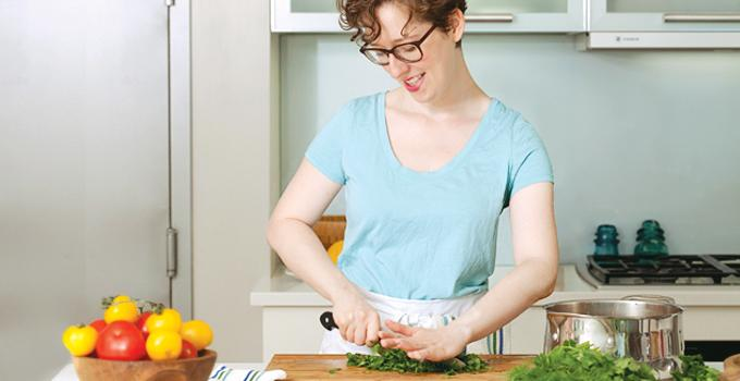 Private chef and nutritional consultant Melissa Gellert.