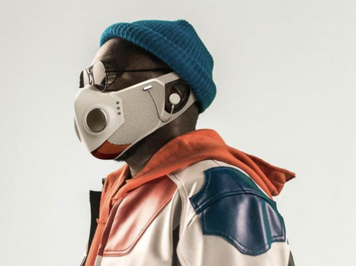 will.i.am wearing the XuperMask