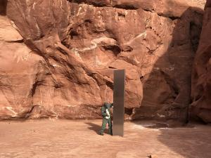 Mysterious Shiny Monolith Found in Otherworldly Utah Desert