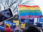 Watch: Trumpers Wave LGBTQ Flag at Capitol Protest While Trump's Gay Toadie Grenell Continues to Spread Falsehoods