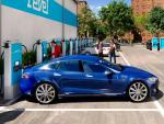 Moped-Share Company Revel Building Car Charging Hub in NYC
